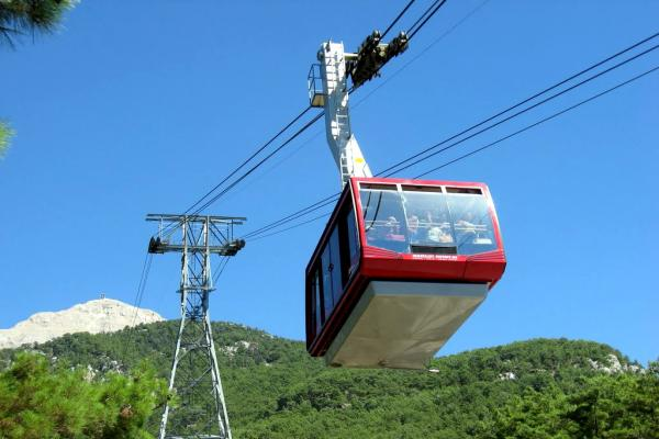 Cableway to the top of Tahtali mountain photo