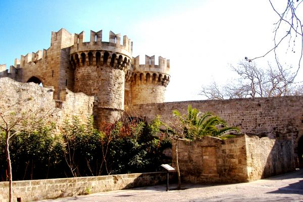 Rhodes fortress photo
