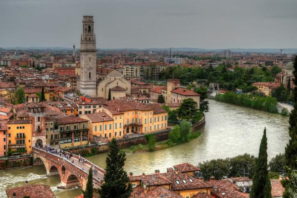 Verona panoramic photo